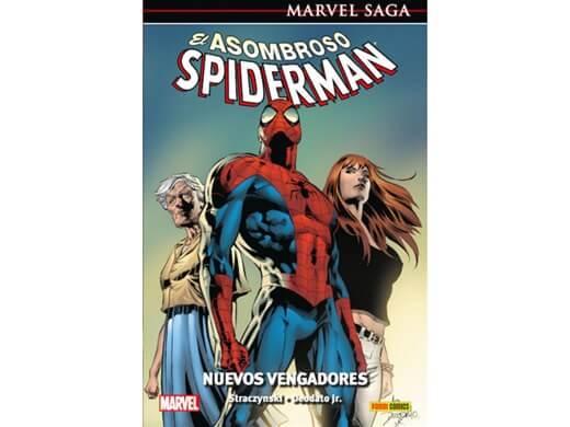 MARVEL SAGA: EL ASOMBROSO SPIDERMAN 8 - NUEVOS VENGADORES