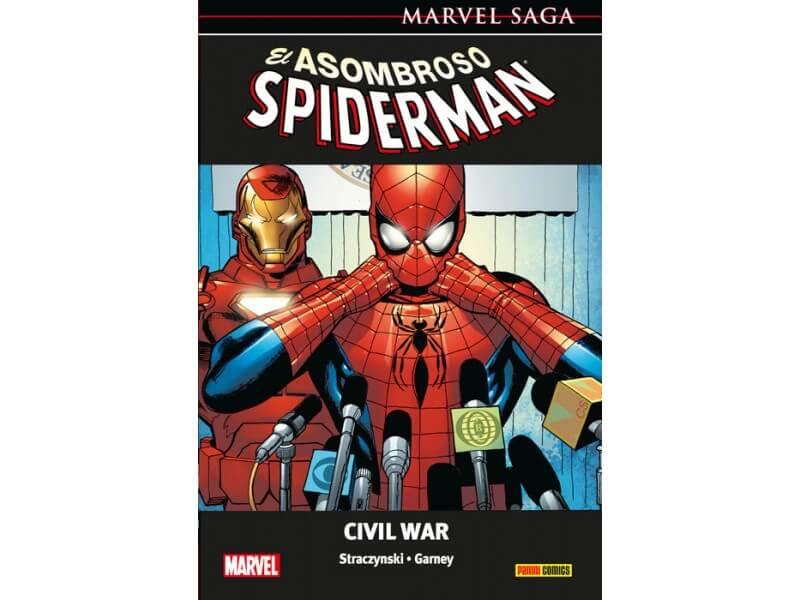 MARVEL SAGA: EL ASOMBROSO SPIDERMAN 11- CIVIL WAR