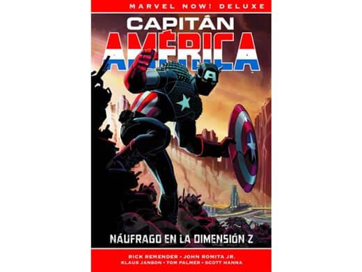 MARVEL NOW!: CAPITÁN AMÉRICA 1 - NÁUFRAGO EN LA DIMENSIÓN Z