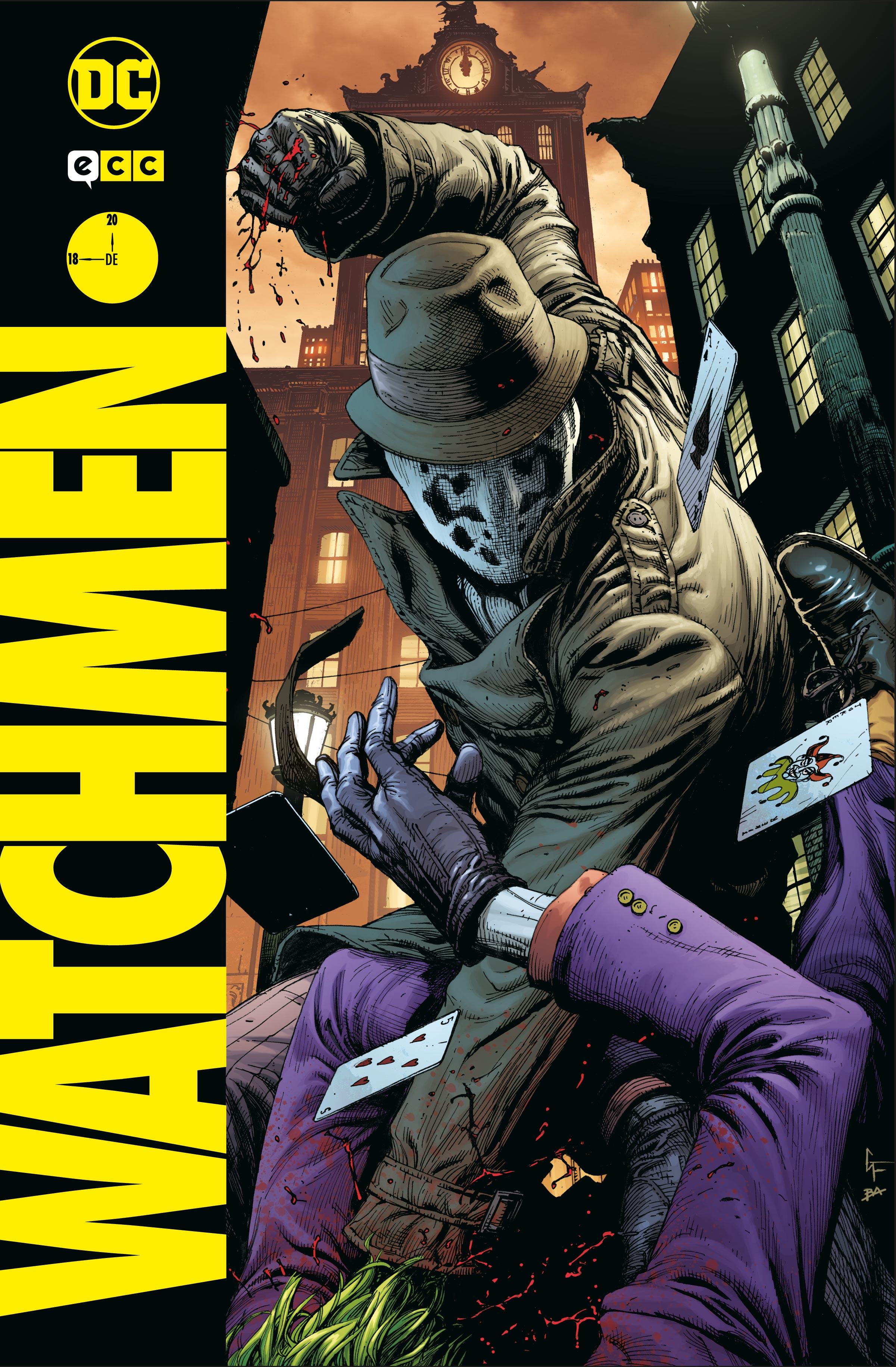 Coleccionable Watchmen núm. 18 (de 20)