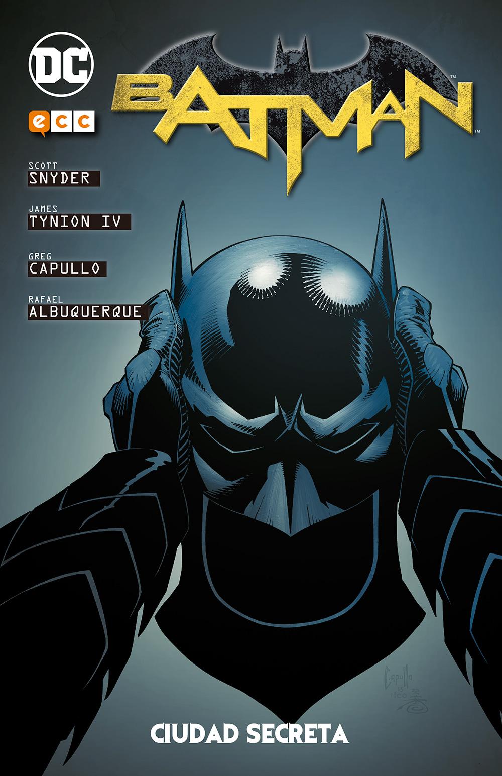 Batman de Snyder y Capullo vol. 3: Origen - Ciudad Secreta