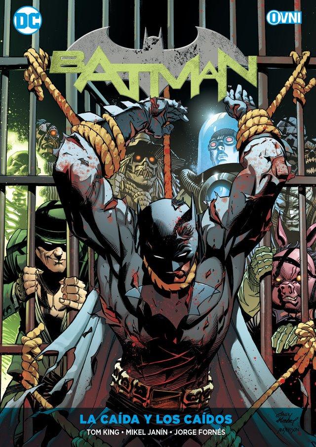 OVNIPRESS - ESPECIALES - Batman Vol. 10: LA CAÍDA Y LOS CAÍDOS