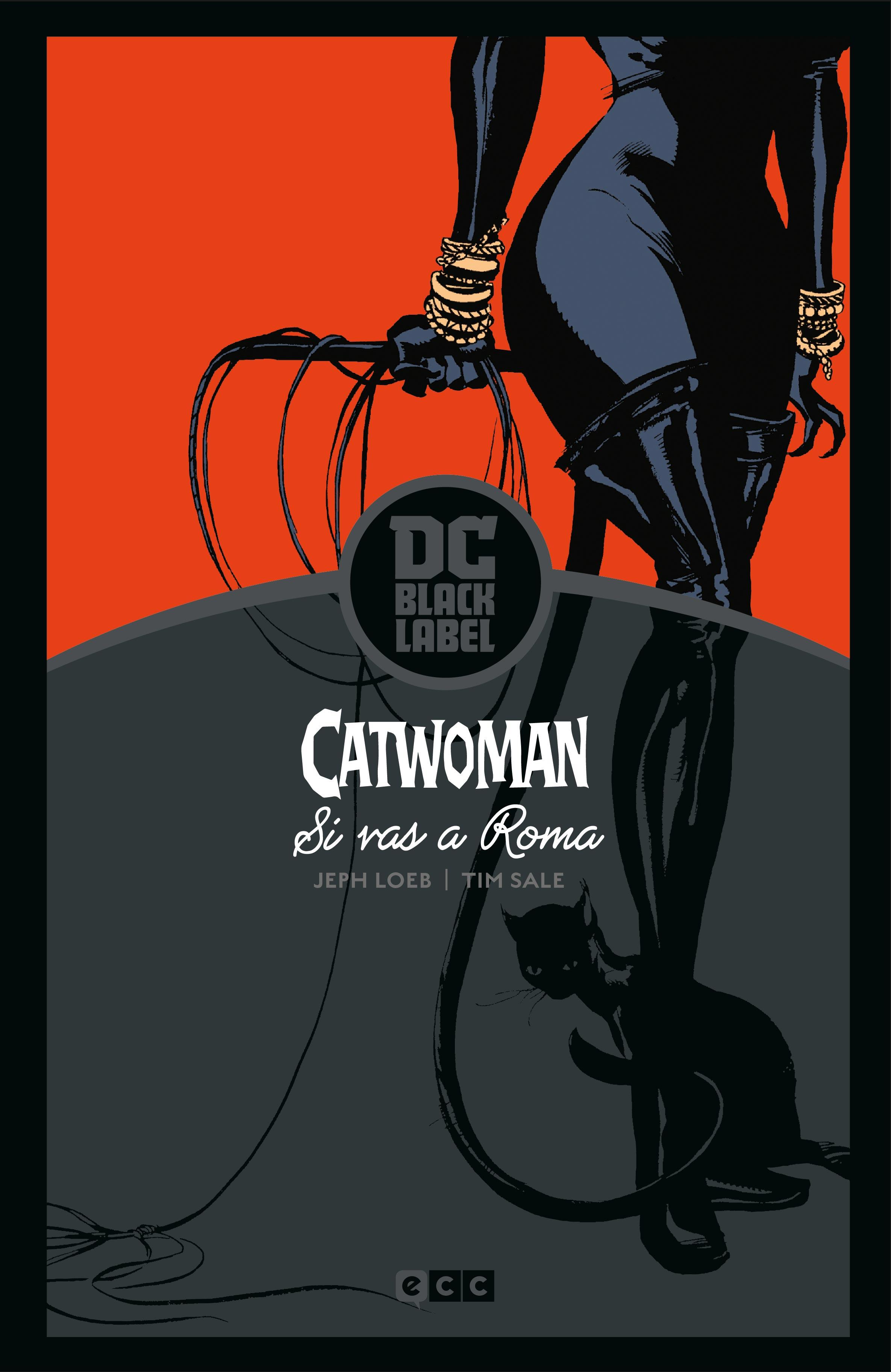 Catwoman: Si vas a Roma (Biblioteca Black Label)