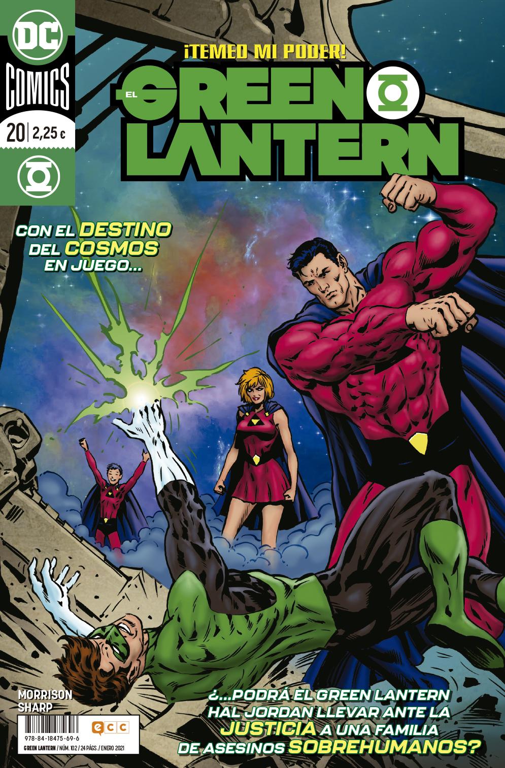 El Green Lantern núm. 102/20