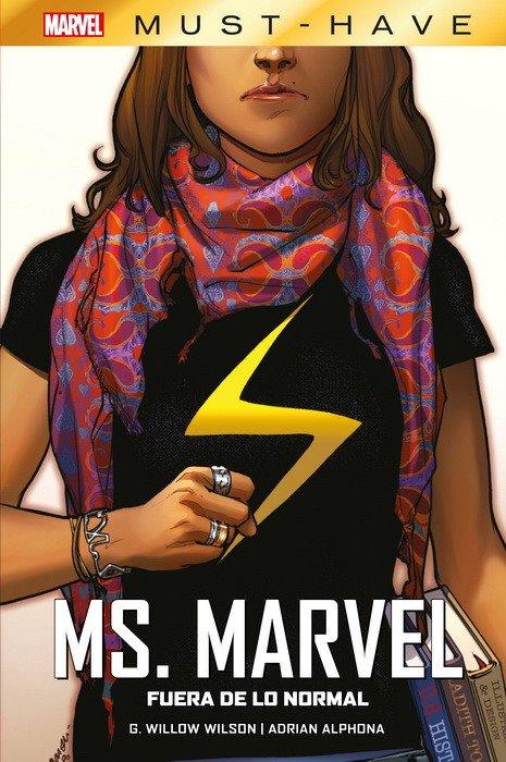 MARVEL MUST HAVE MS. MARVEL. FUERA DE LO NORMAL MARVEL MUST HAVE