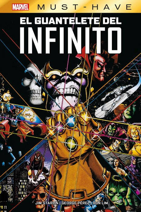 MARVEL MUST HAVE EL GUANTELETE DEL INFINITO MARVEL MUST HAVE
