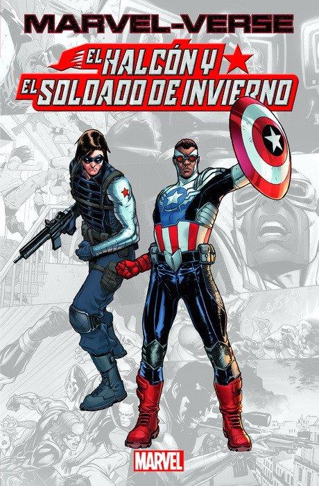 MARVEL-VERSE EL HALCÓN Y EL SOLDADO DE INVIERNO MARVEL VERSE