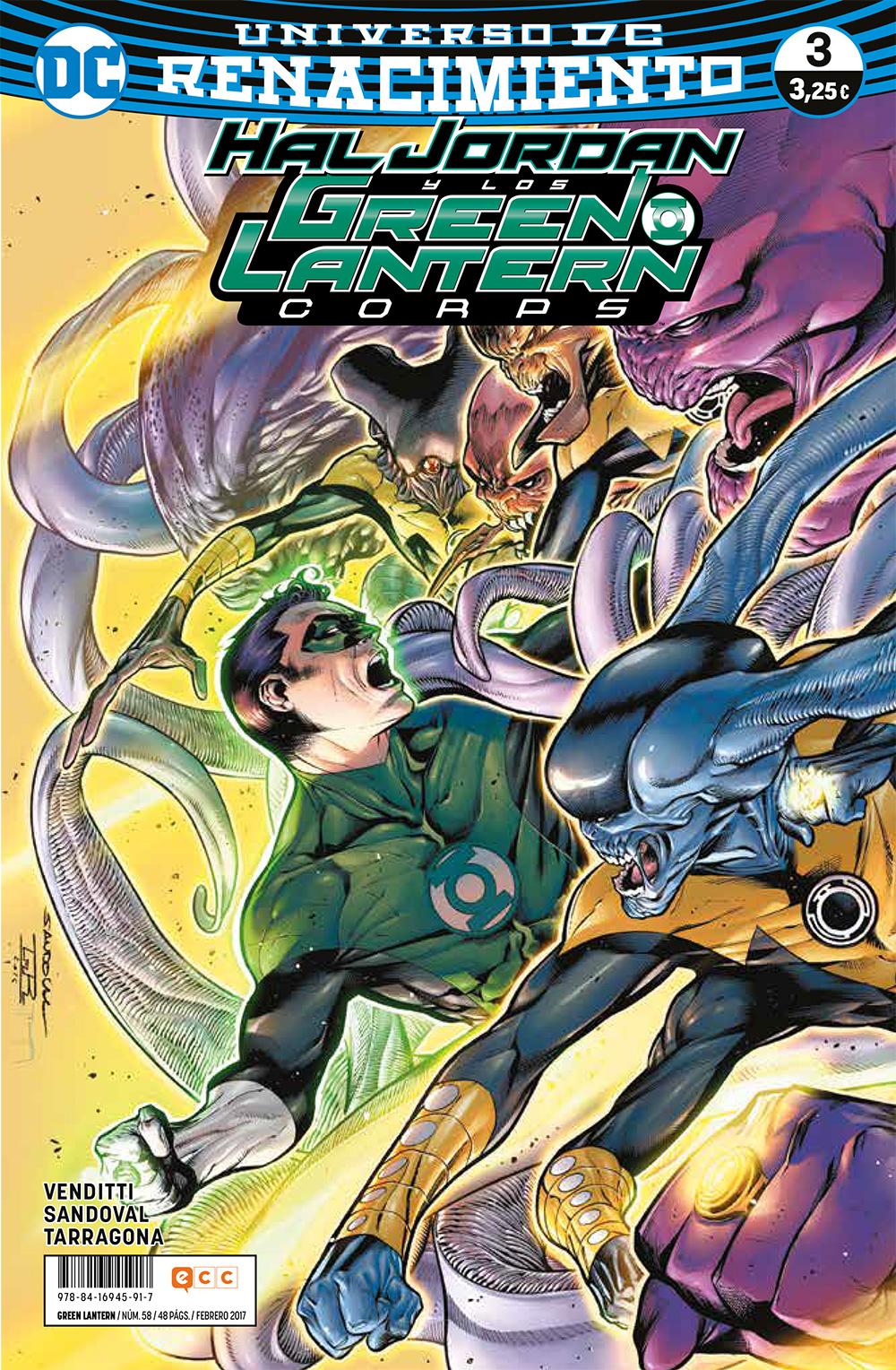 Green Lantern núm. 58/3