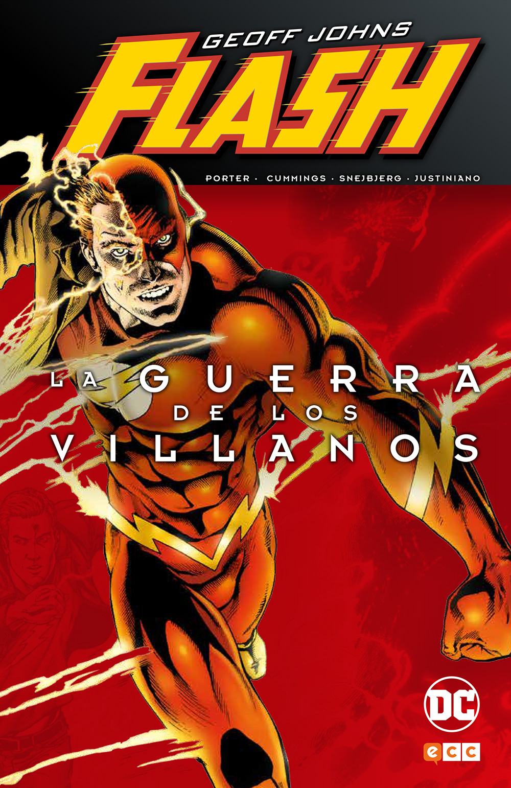 Flash de Geoff Johns: La guerra de los villanos