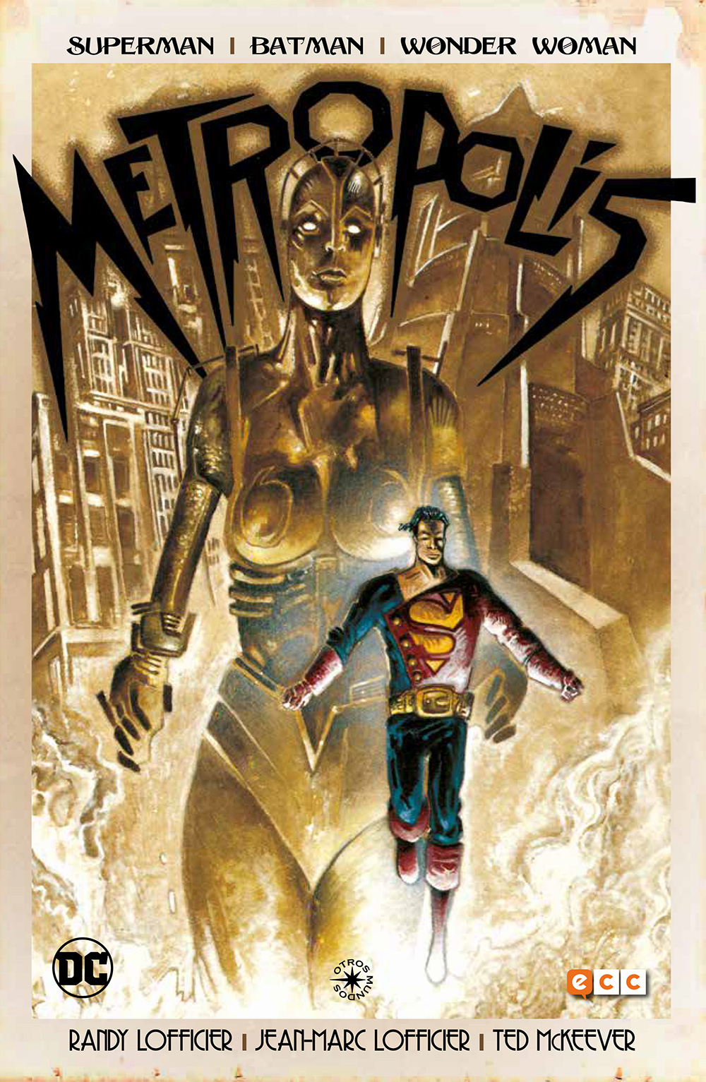 Segunda Mano Superman/Batman/Wonder woman: Metropolis