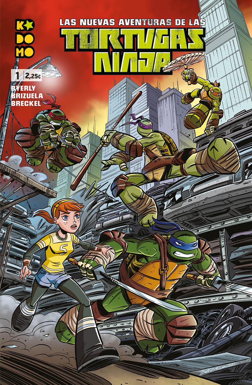Las nuevas aventuras de las Tortugas Ninja núm. 1