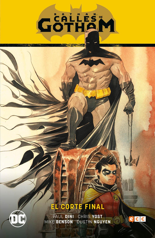 Batman: Calles de Gotham vol. 1: El corte final (Batman Saga La casa del silencio Parte 1)