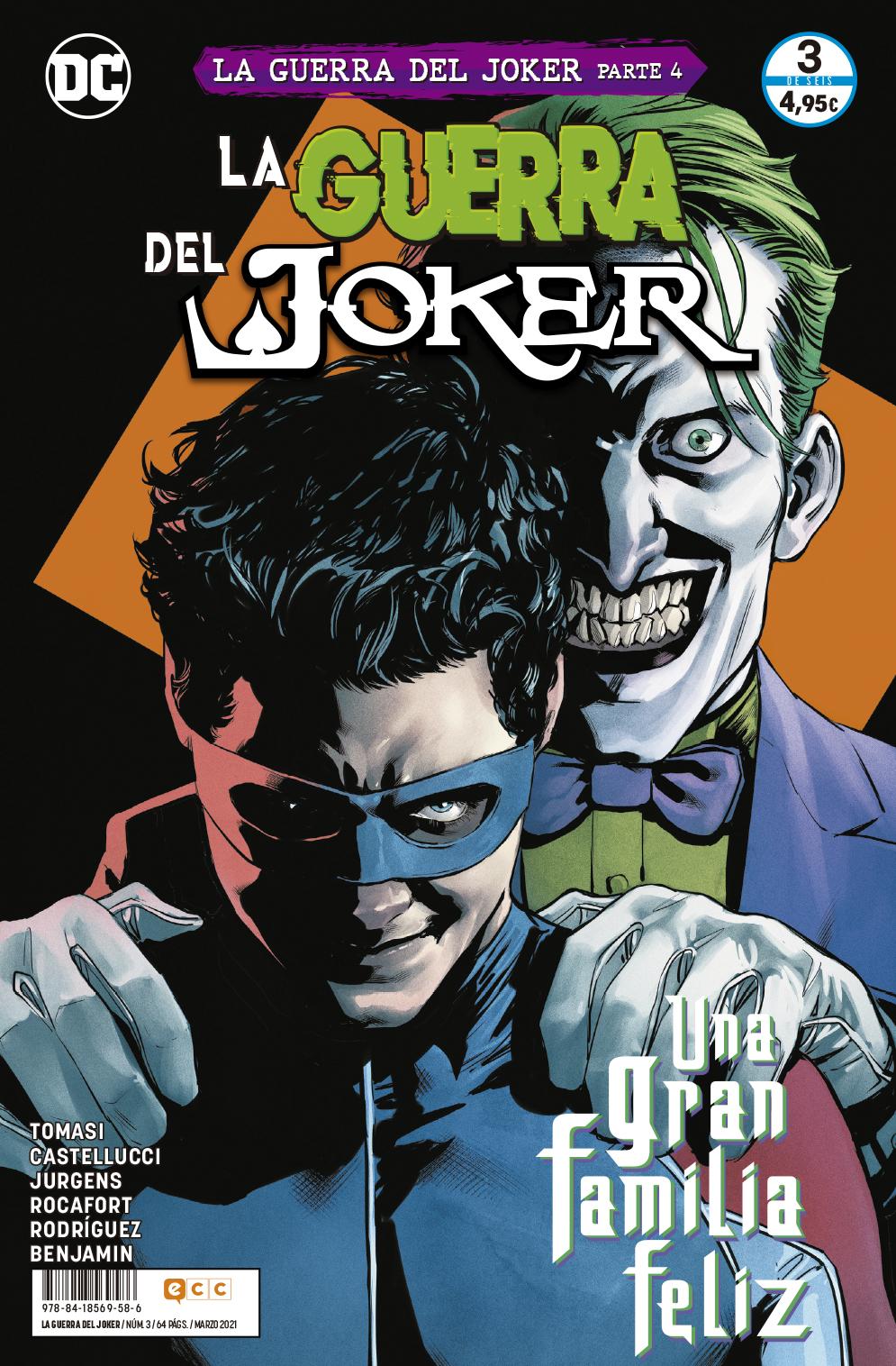 La guerra del Joker núm. 3 de 6