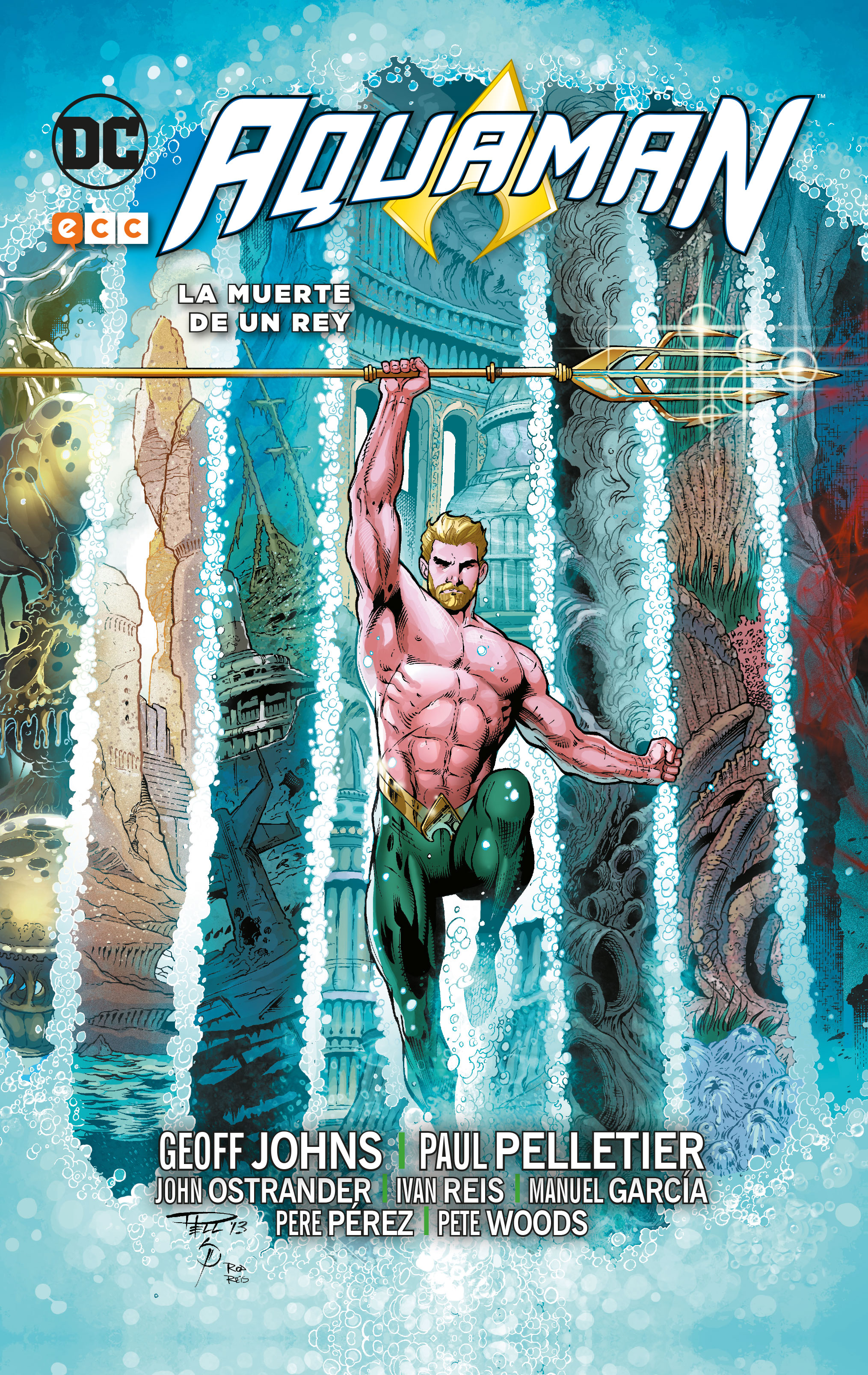 Aquaman: La muerte de un rey