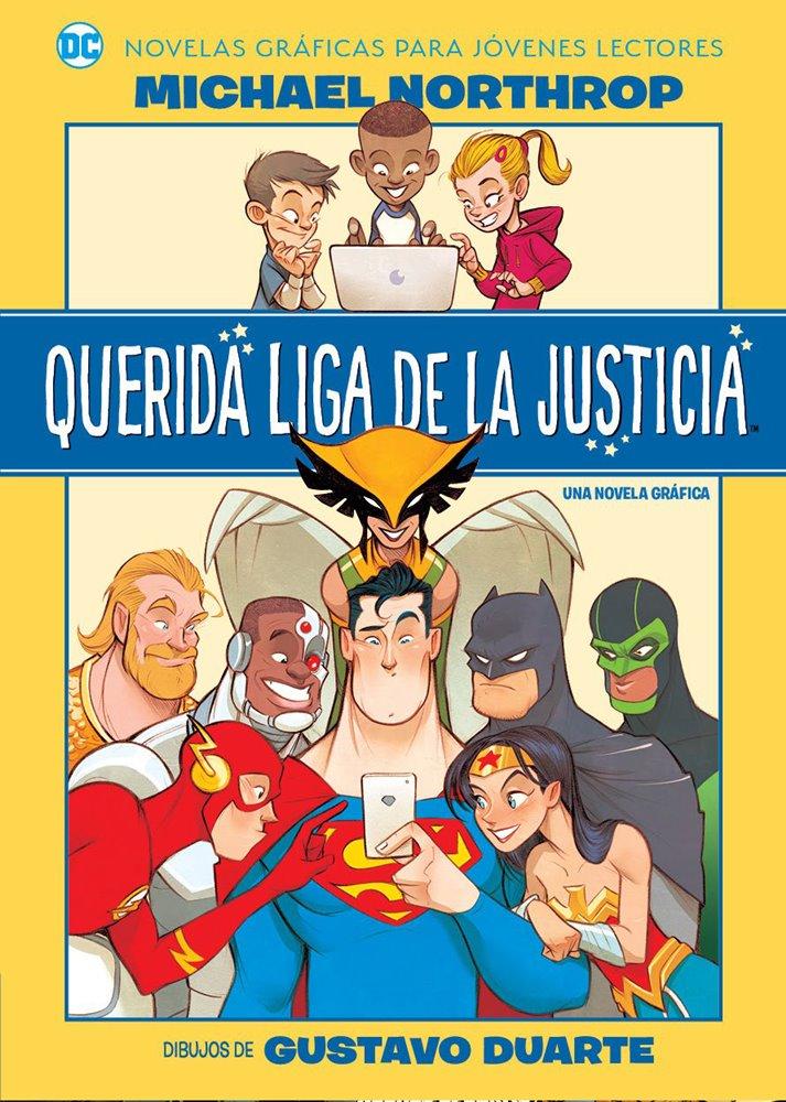OVNIPRESS - DC -JÓVENES LECTORES - QUERIDA LIGA DE LA JUSTICIA