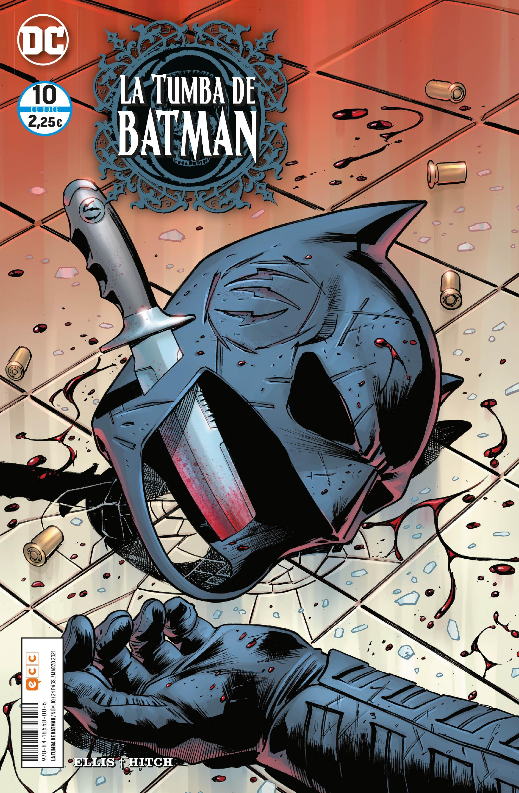 La tumba de Batman núm. 10 de 12