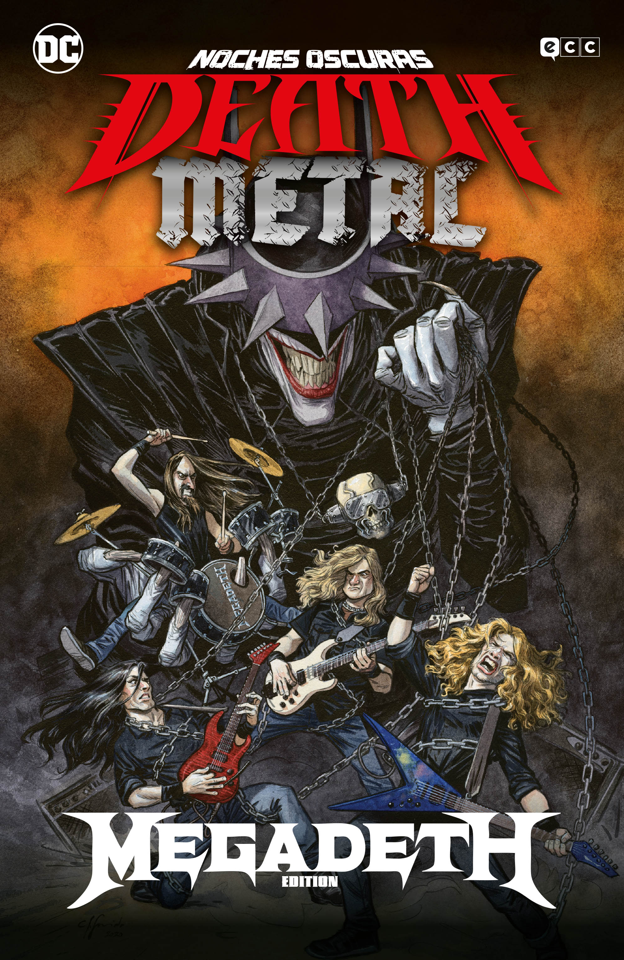 ECC Noches oscuras: Death Metal núm. 01 de 7 (Megadeth Band Edition) (Rústica)