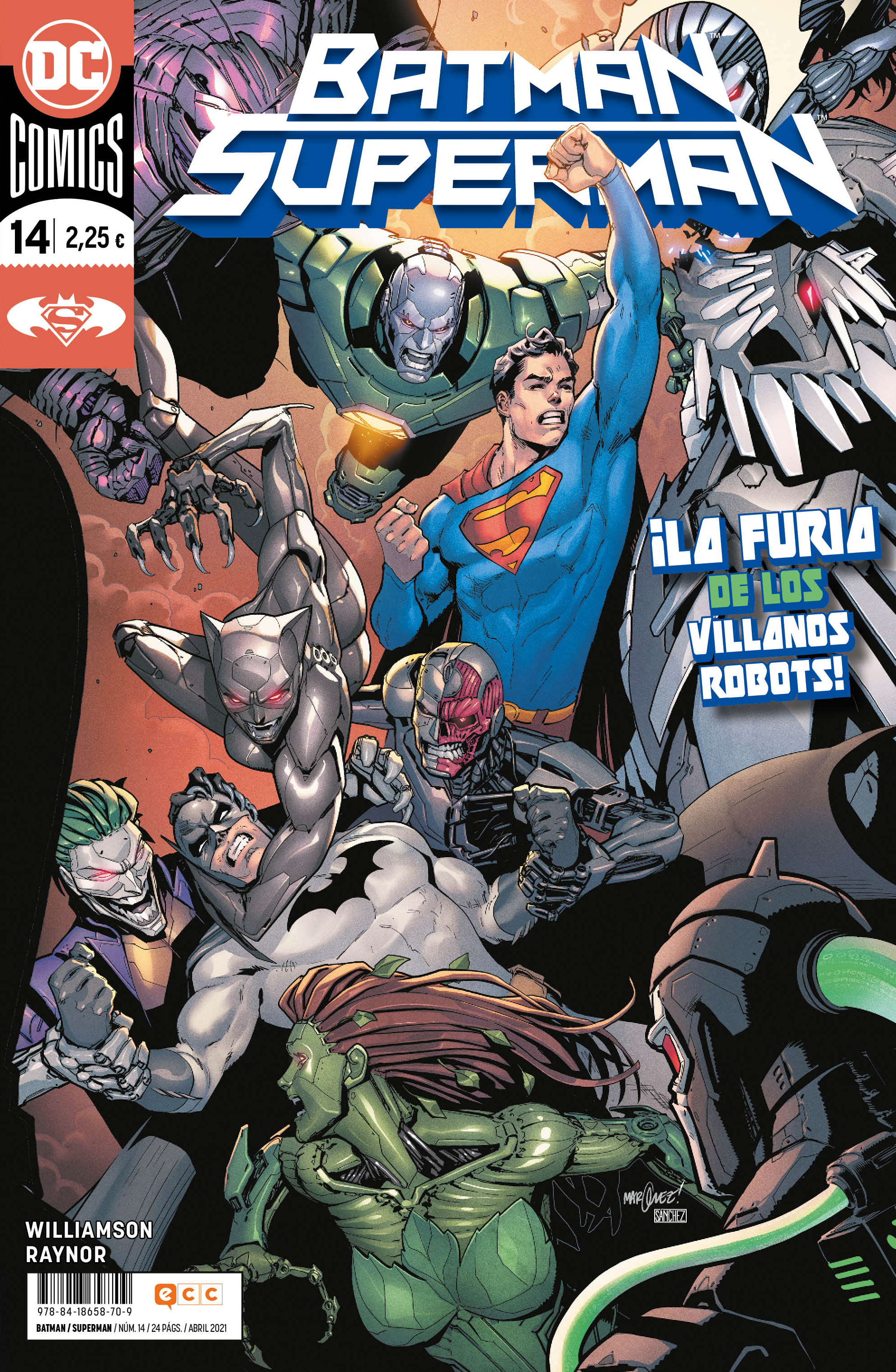 Batman/Superman núm. 14