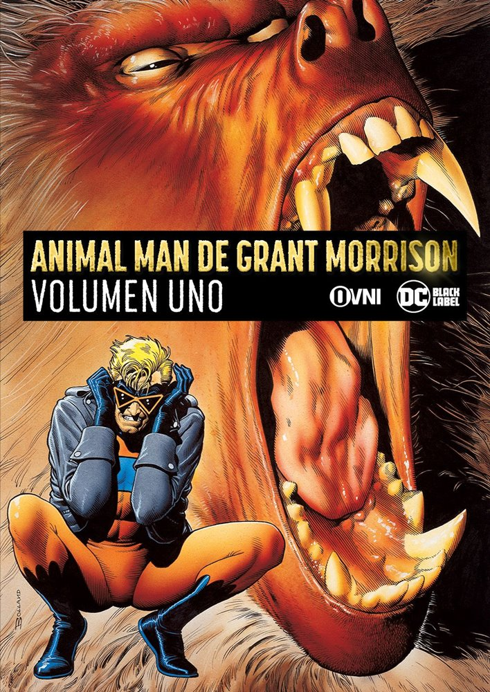 OVNIPRESS - ANIMAL MAN DE GRANT MORRISON Vol 01