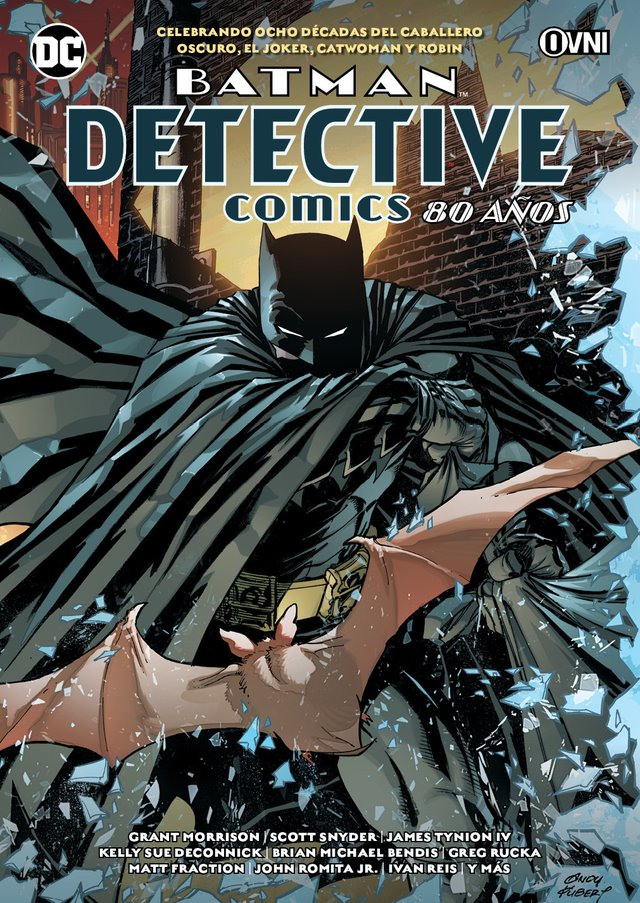 OVNIPRESS - BATMAN - DETECTIVE COMICS: 80 AÑOS