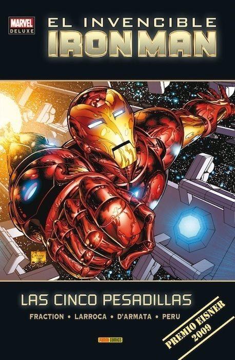 Marvel Deluxe. El Invencible Iron Man 1