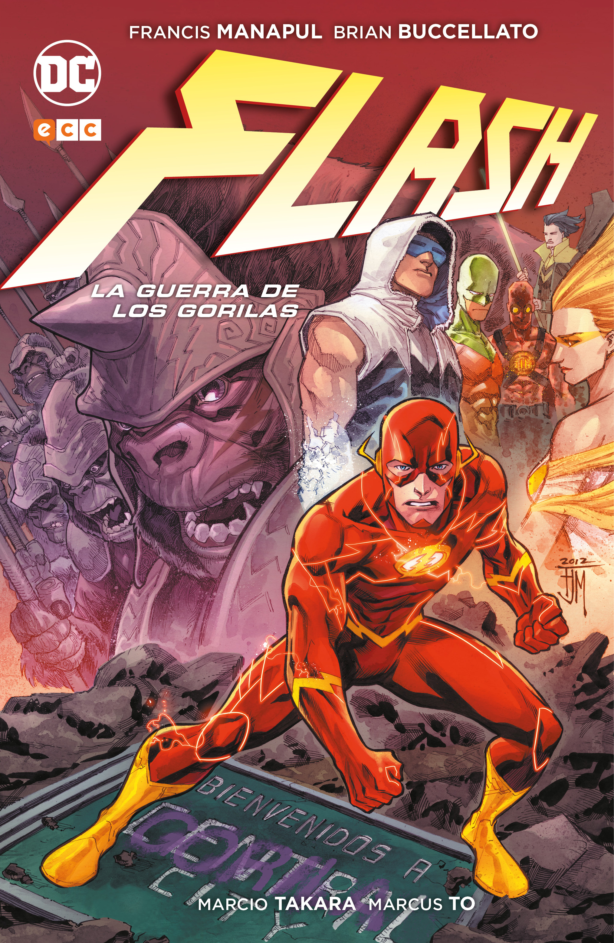 Flash: La guerra de los Gorilas