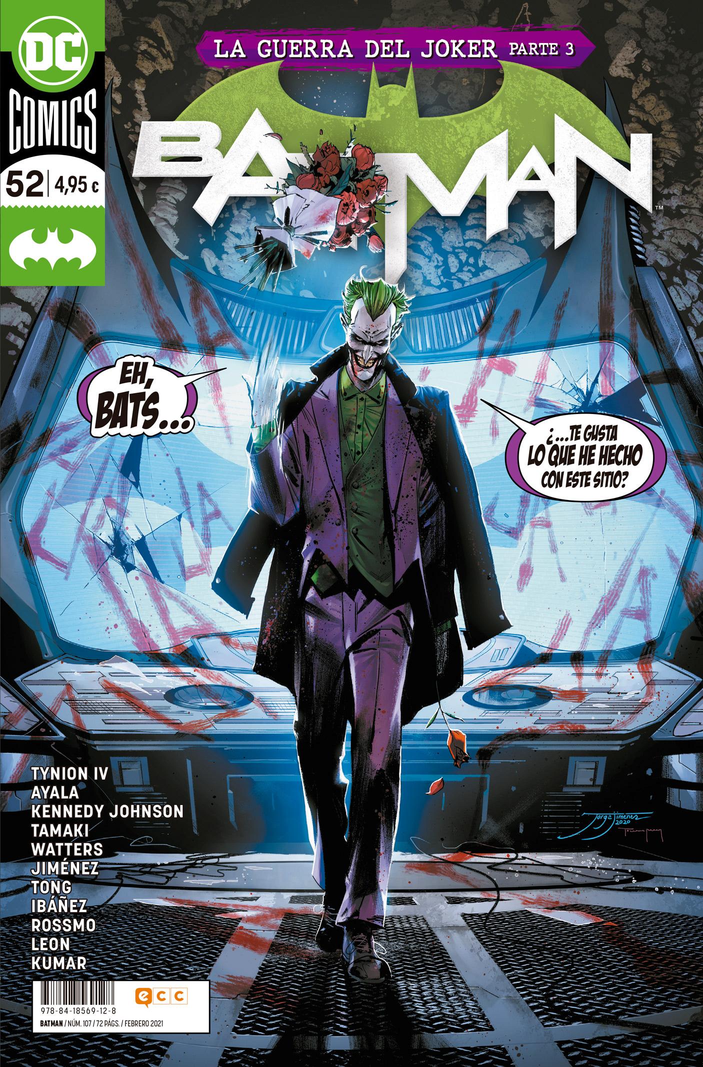 SEGUNDA MANO: Batman núm. 107/52