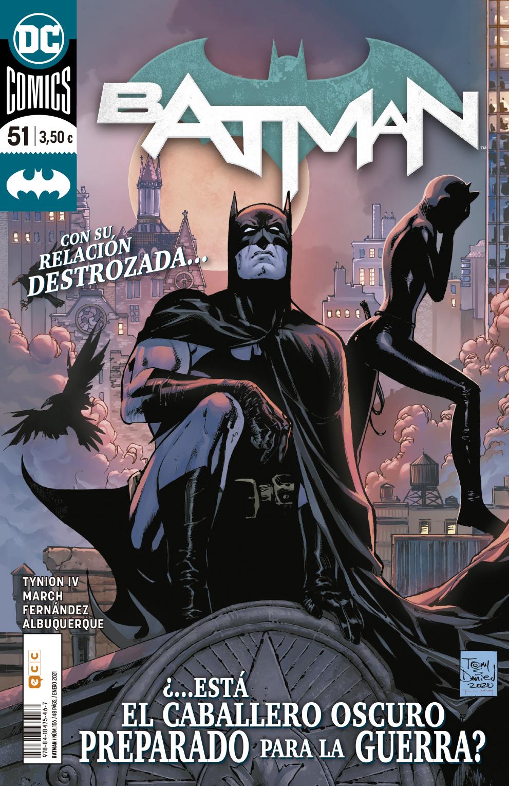 SEGUNDA MANO: Batman núm. 106/51