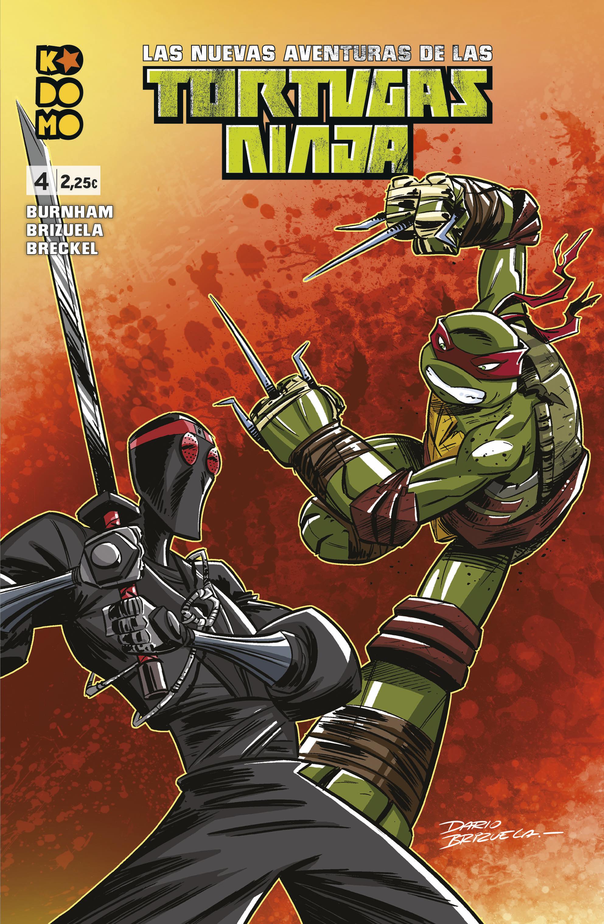 Las nuevas aventuras de las Tortugas Ninja núm. 4