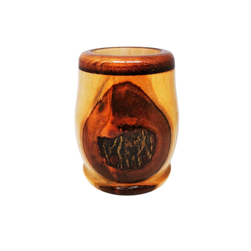 Mate de madera nacional - Diseño 1