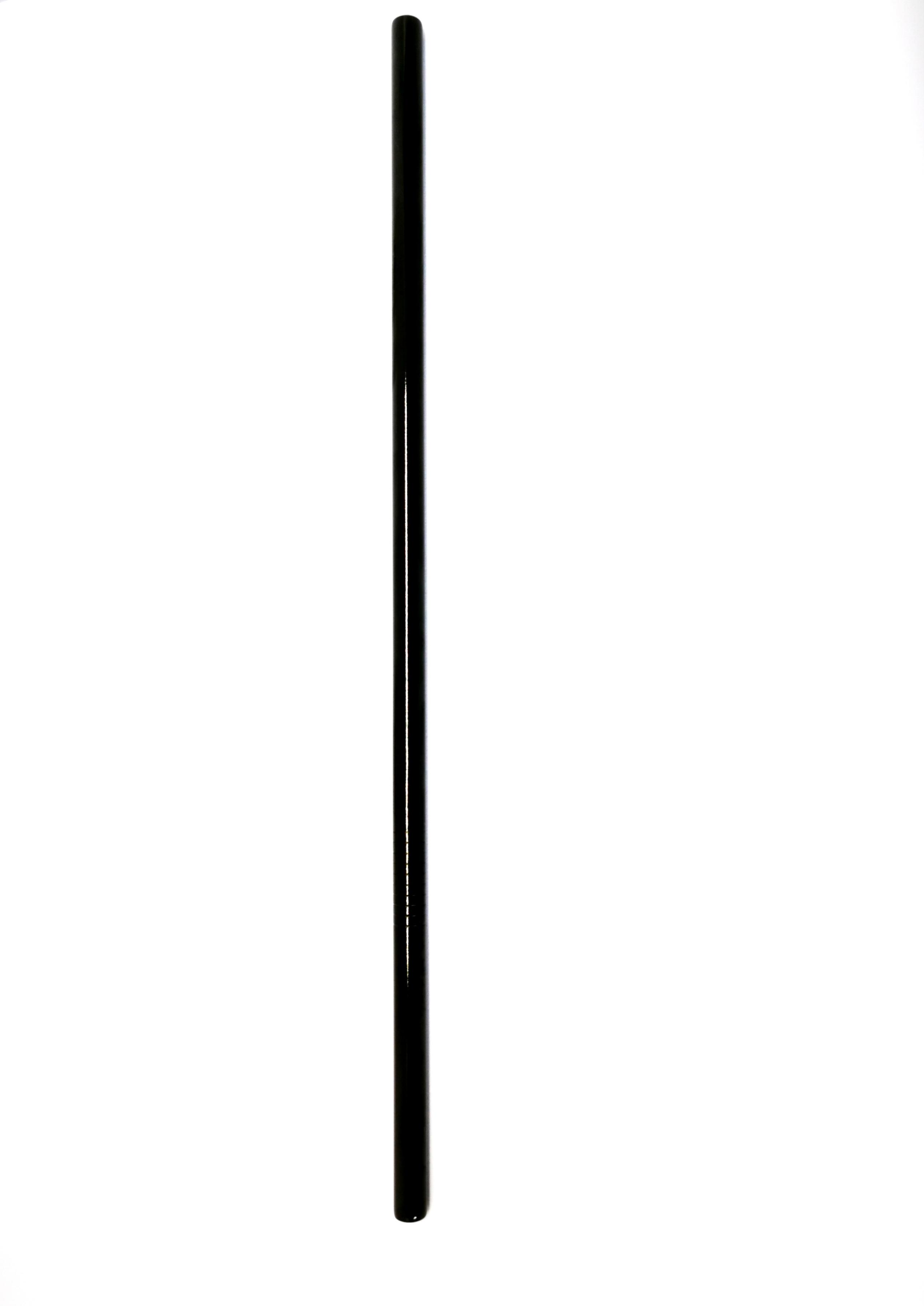 Bombilla Inox - Curvas y rectas | Negra