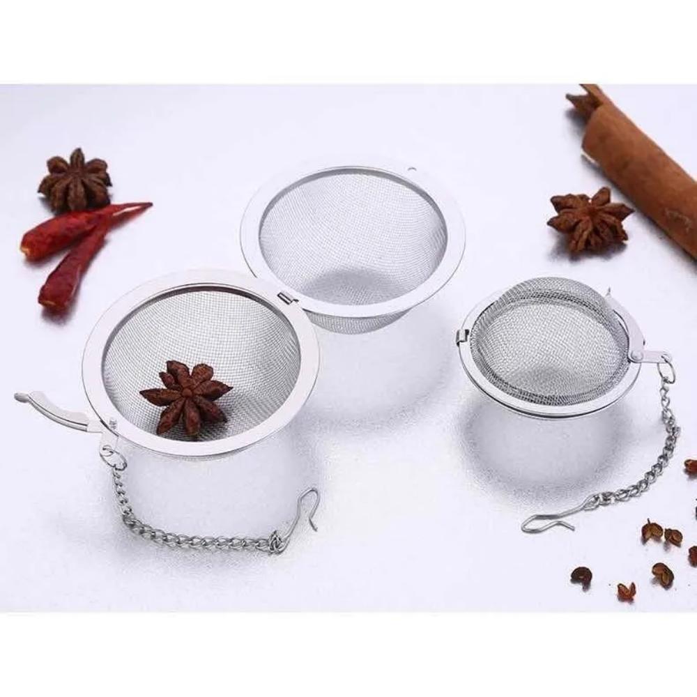 Infusor de té inox - Redondo mediano