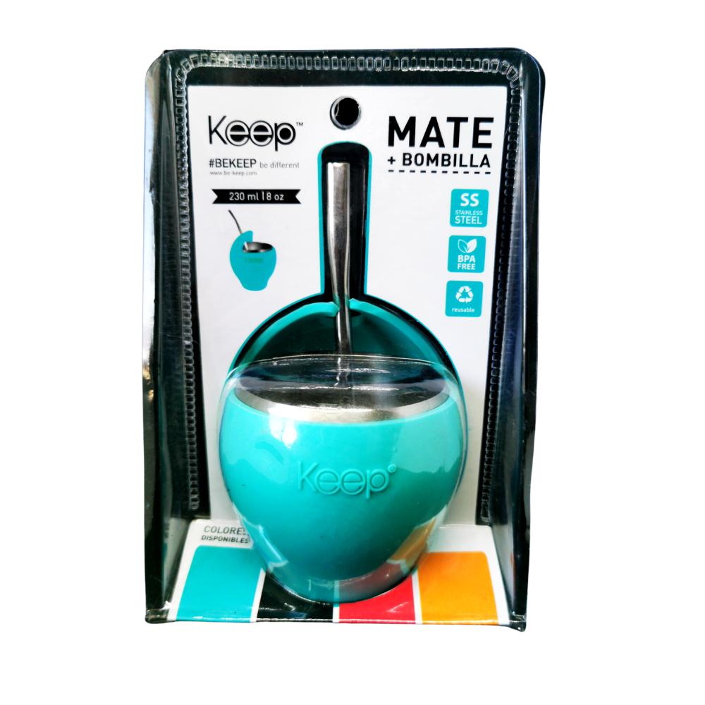 Mate Keep 230 ml + Bombilla Inox