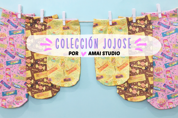 #COLABORACION NUESTRA COLECCIÓN CON JOJOSE