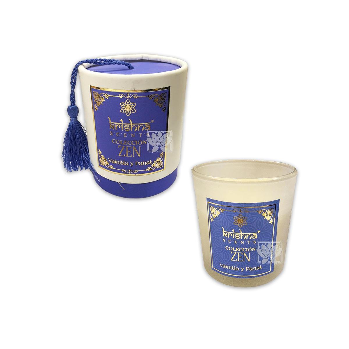 Vela Aromaticas Krishna Vainilla y Panal  Zen-109
