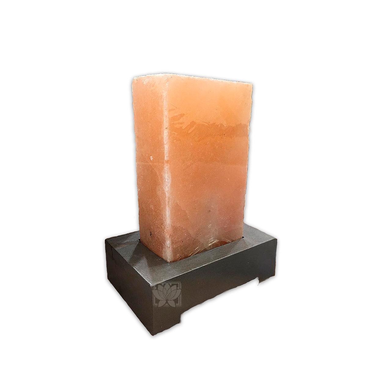 Lampara de Sal Rectangular 10