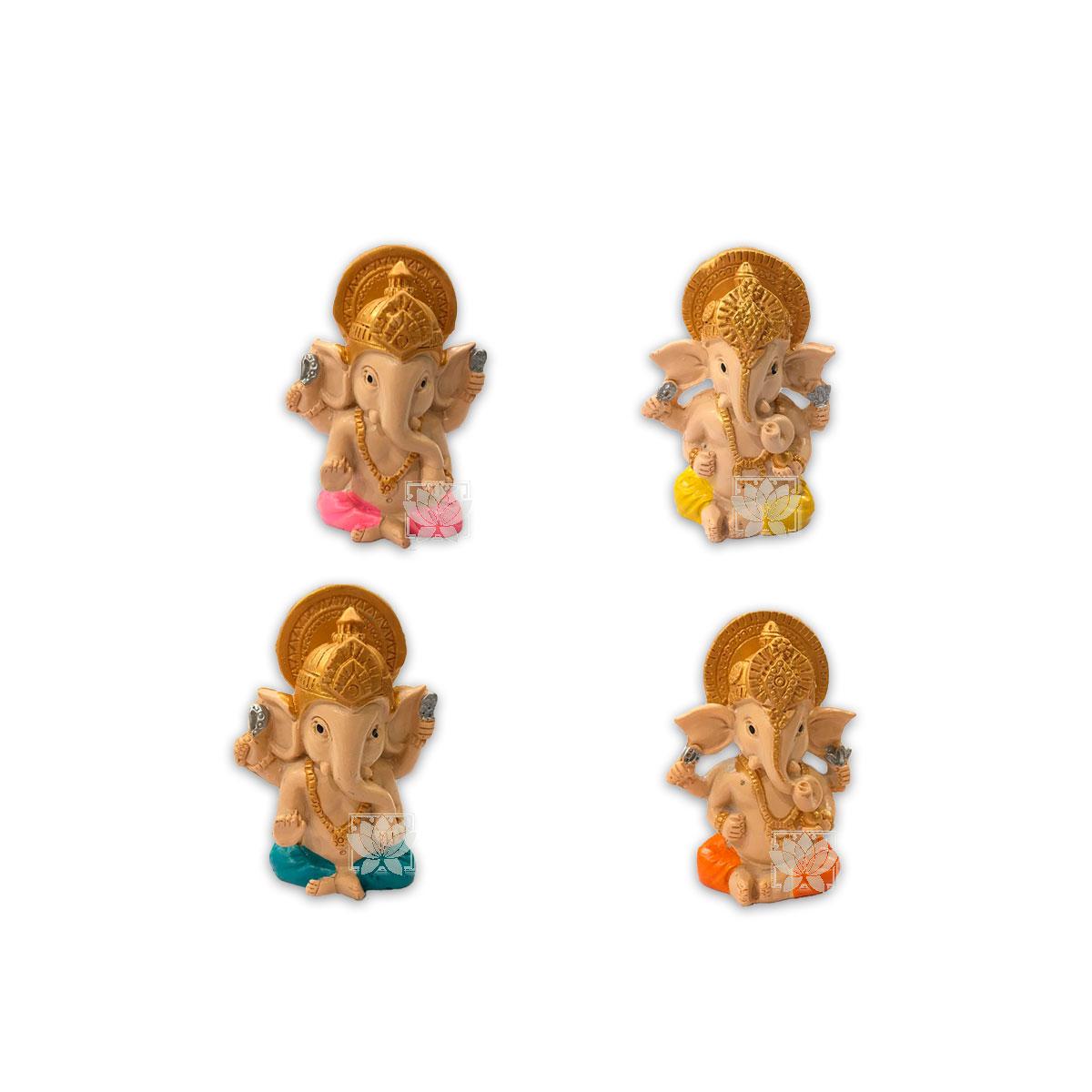 Set Figura Ganesh  Poliresina 2,9