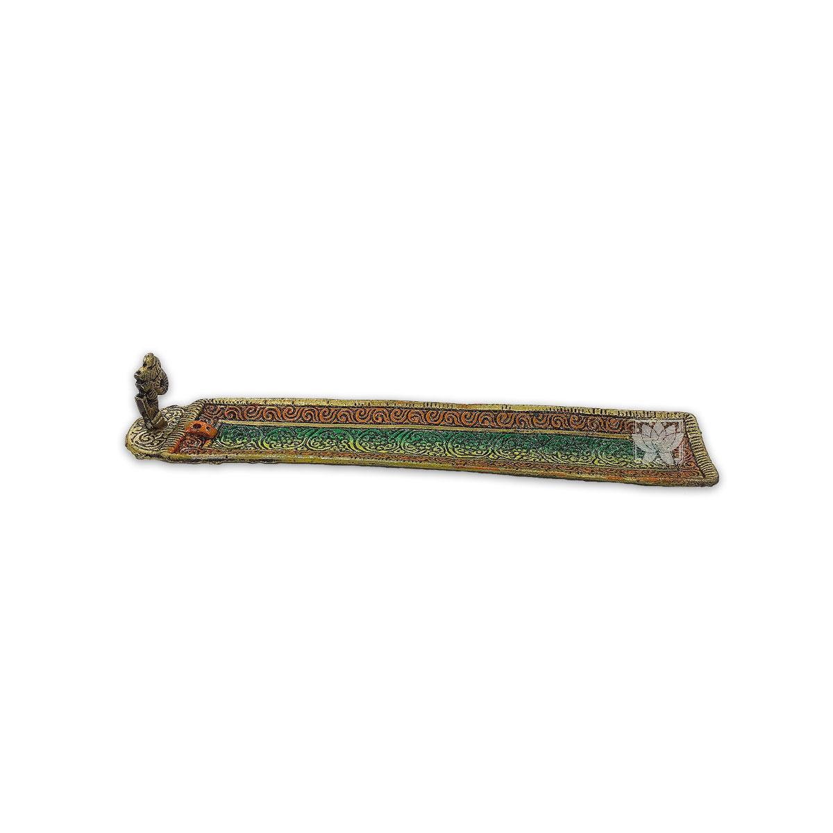 Porta Incienso de Metal Color Rectangular VDQ20-06