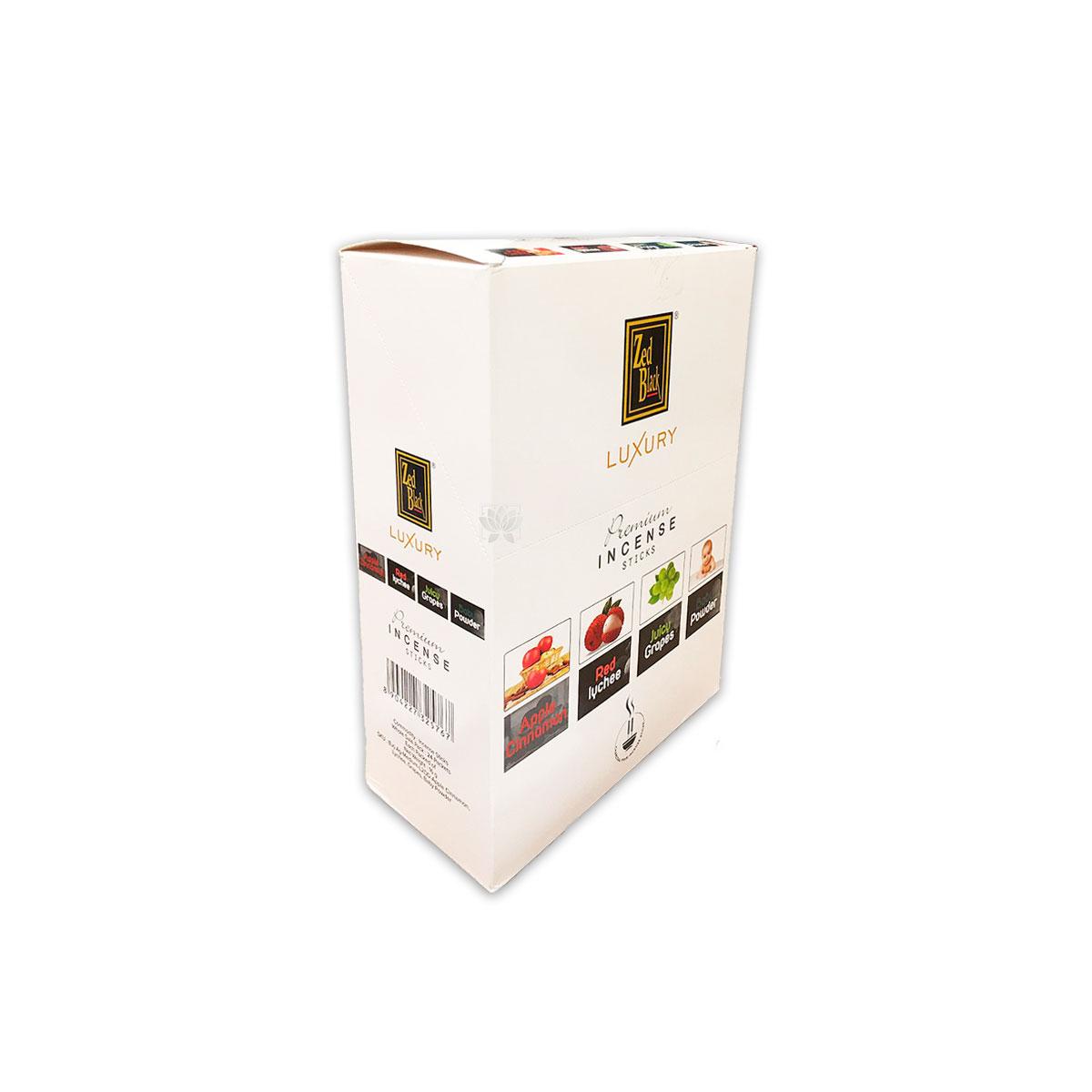 Incienso Zed Black Luxury Premium Exotic Mix
