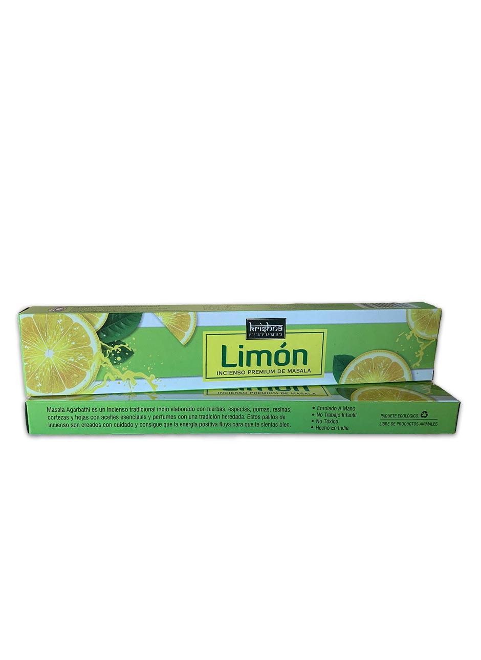 Incienso Krishna Premium Limón