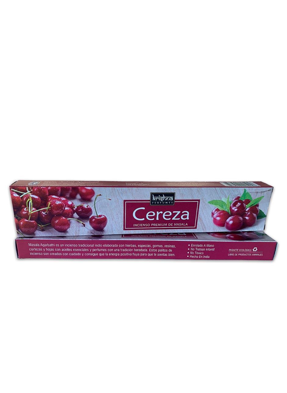 Incienso Krishna Premium Cereza
