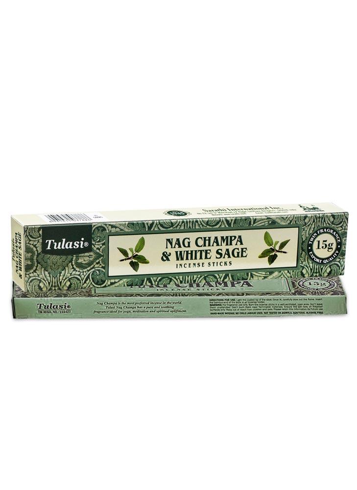Incienso Tulasi Nag champa Salvia Blanca