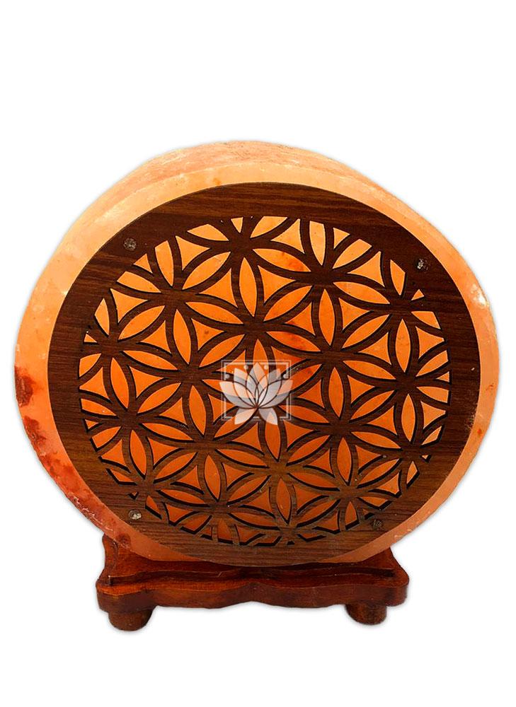 Lampara de Sal Diseño Mandala  N°12  9