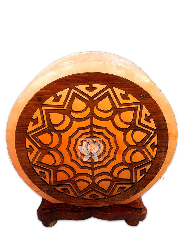 Lampara de Sal Diseño N°14 Mandala   9