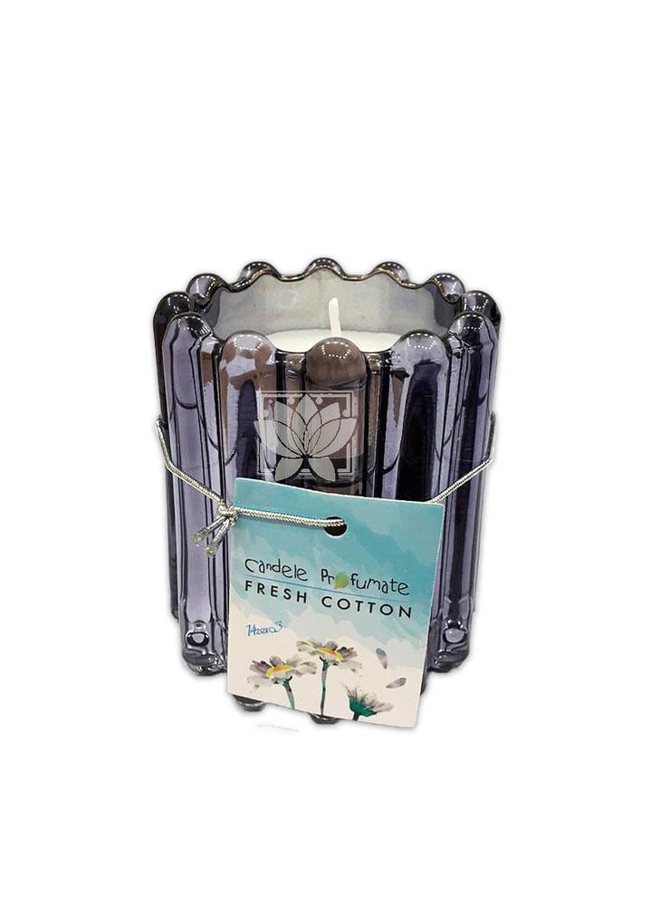 Vela Aromatica  Vidrio Cotton Fresh JI20-56
