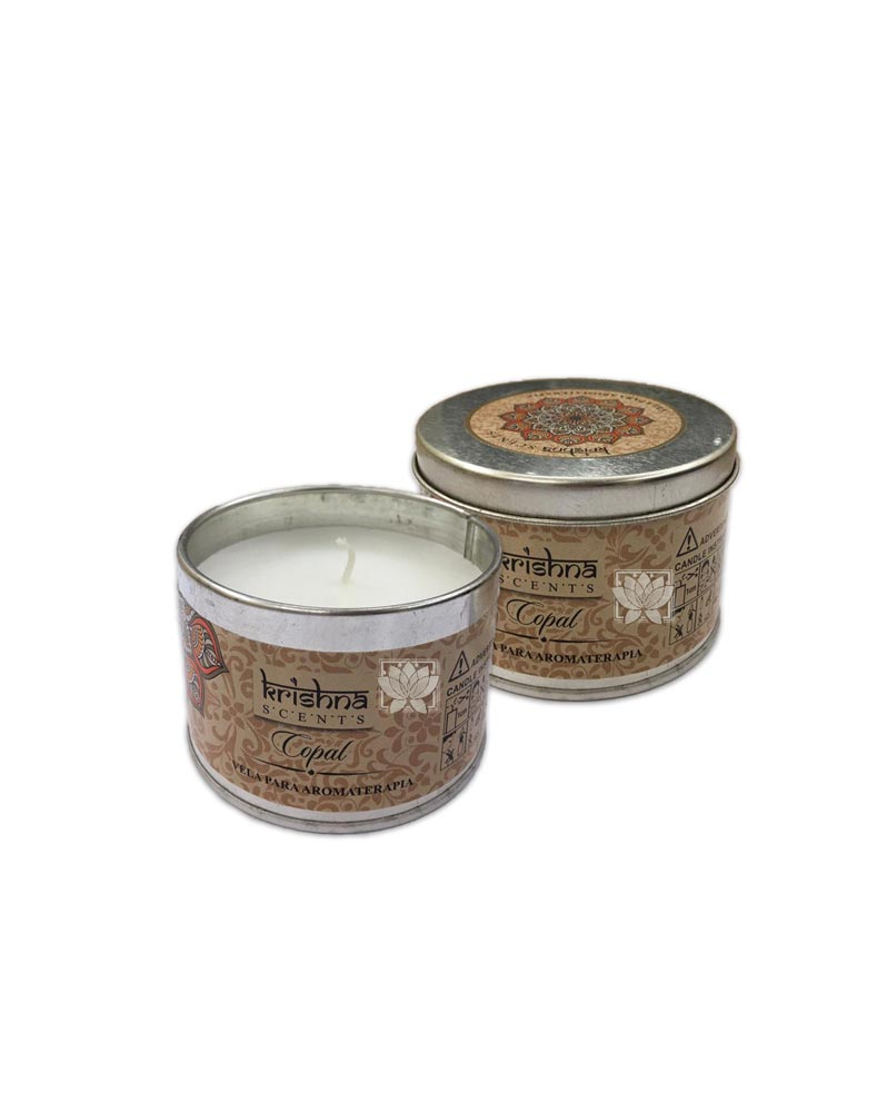 Vela aromaticas Krishna Copal