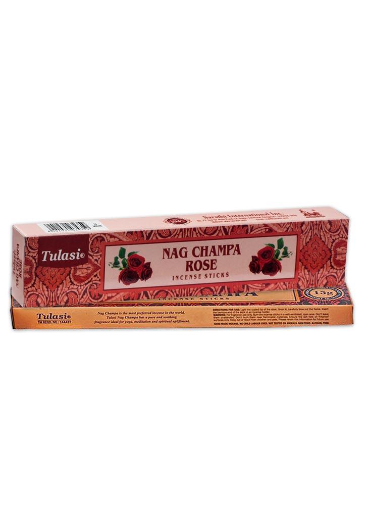Incienso Tulasi Nag champa & Rosa