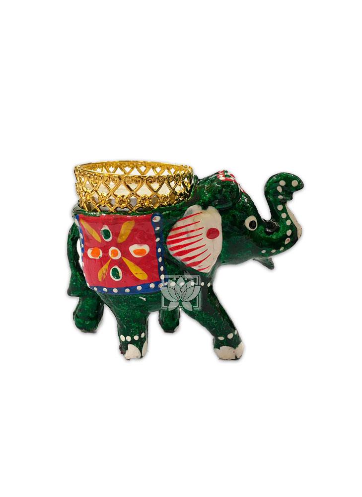Porta Vela  Forma de Elefante VDQ20-45