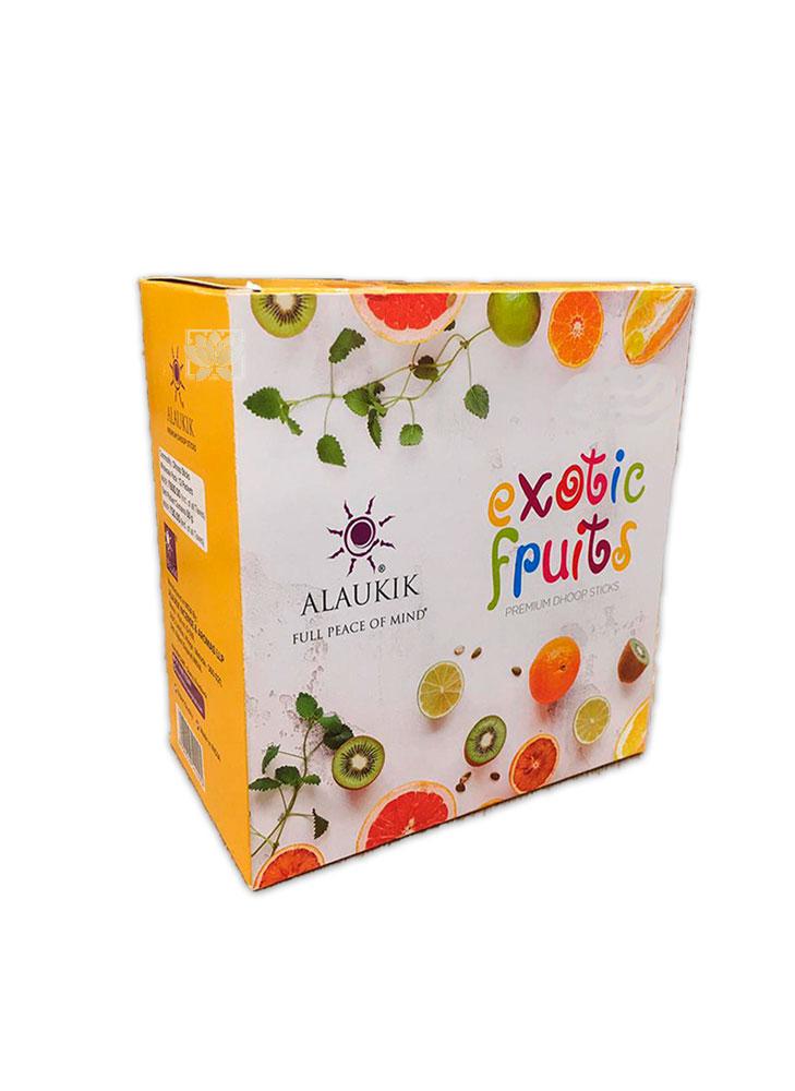 Incienso Alaukik Frutas Exoticas Dhoop 50Gr Lima Fresca