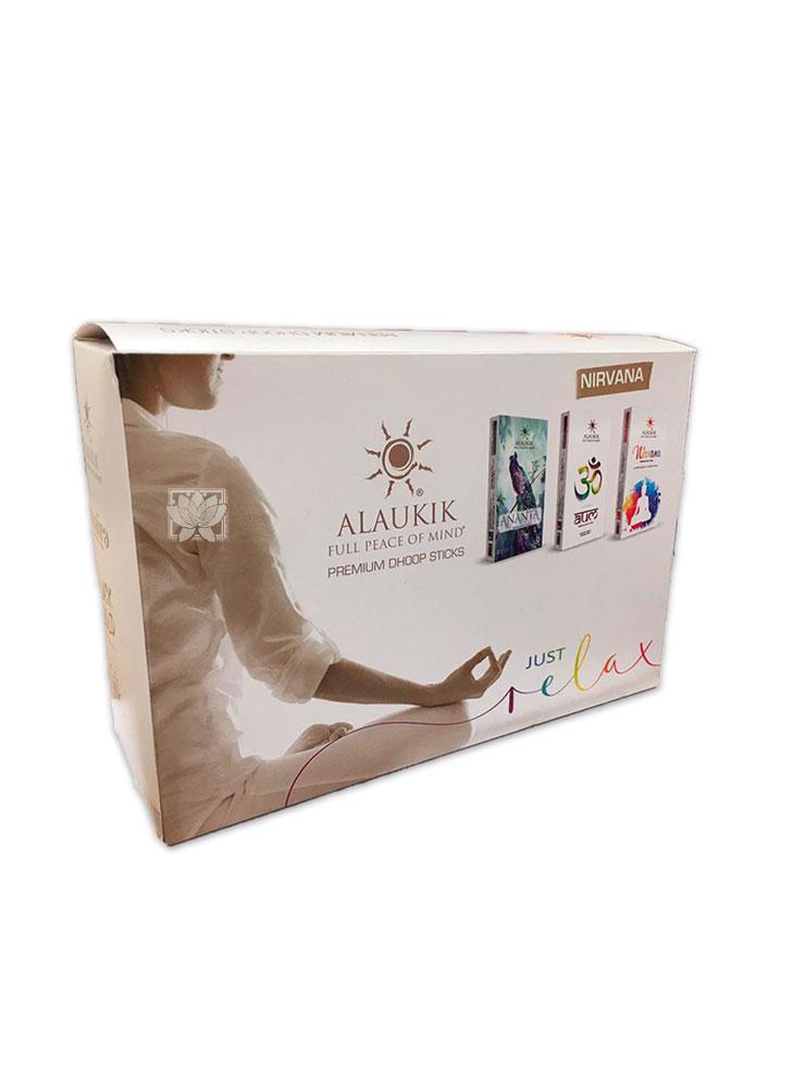 Incienso Alaukik Premium Dhoop 50Gr Nirvana